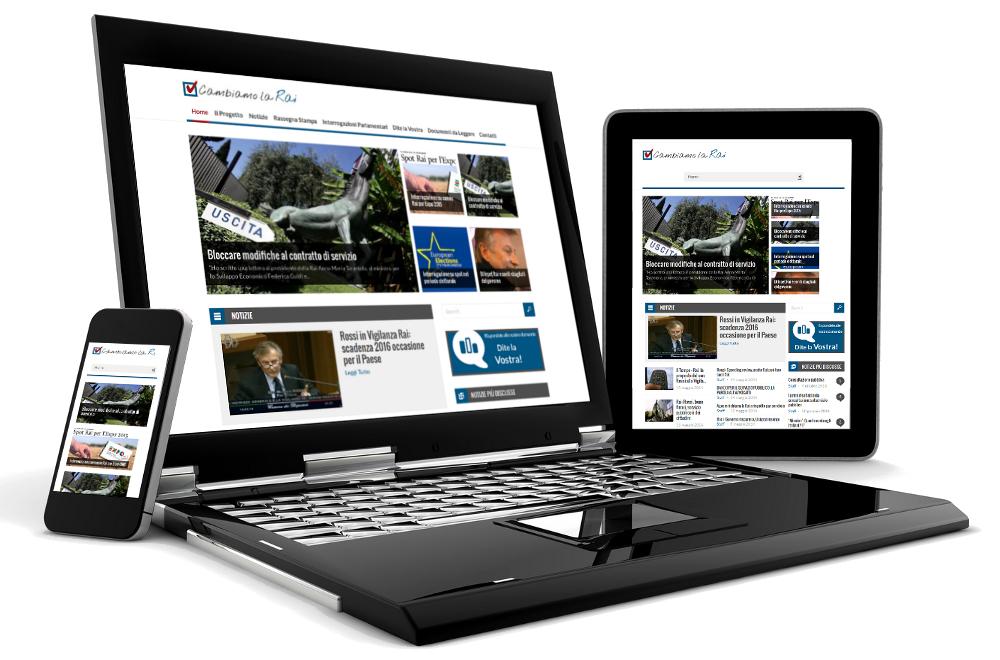 Realizzazione sito web responsive